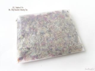 Petit Vour February 2014: R.L. Linden & Co. Ms. Tilly Rosalie's Beauty Tea