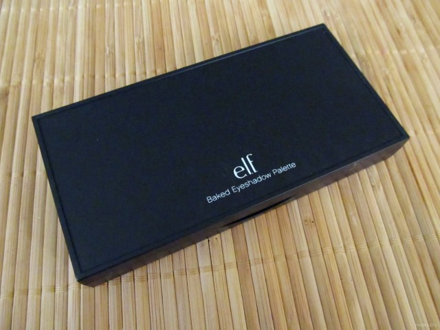 e.l.f. Baked Eyeshadow Palette packaging.