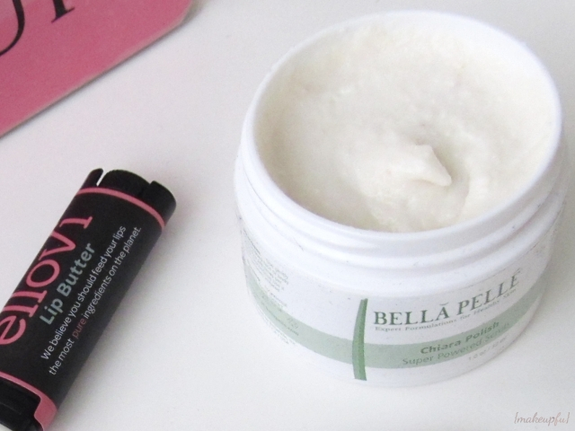 January 2014 Petit Vour Box: Bella Pelle Chiara Body Polish