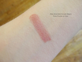 Swatch of Alicia Silverstone for Juice Beauty Purely Kissable Lip Color