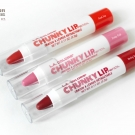 L.A. Colors Chunky Lip Pencils in Coral Fun, Pretty Pink and Daring Red
