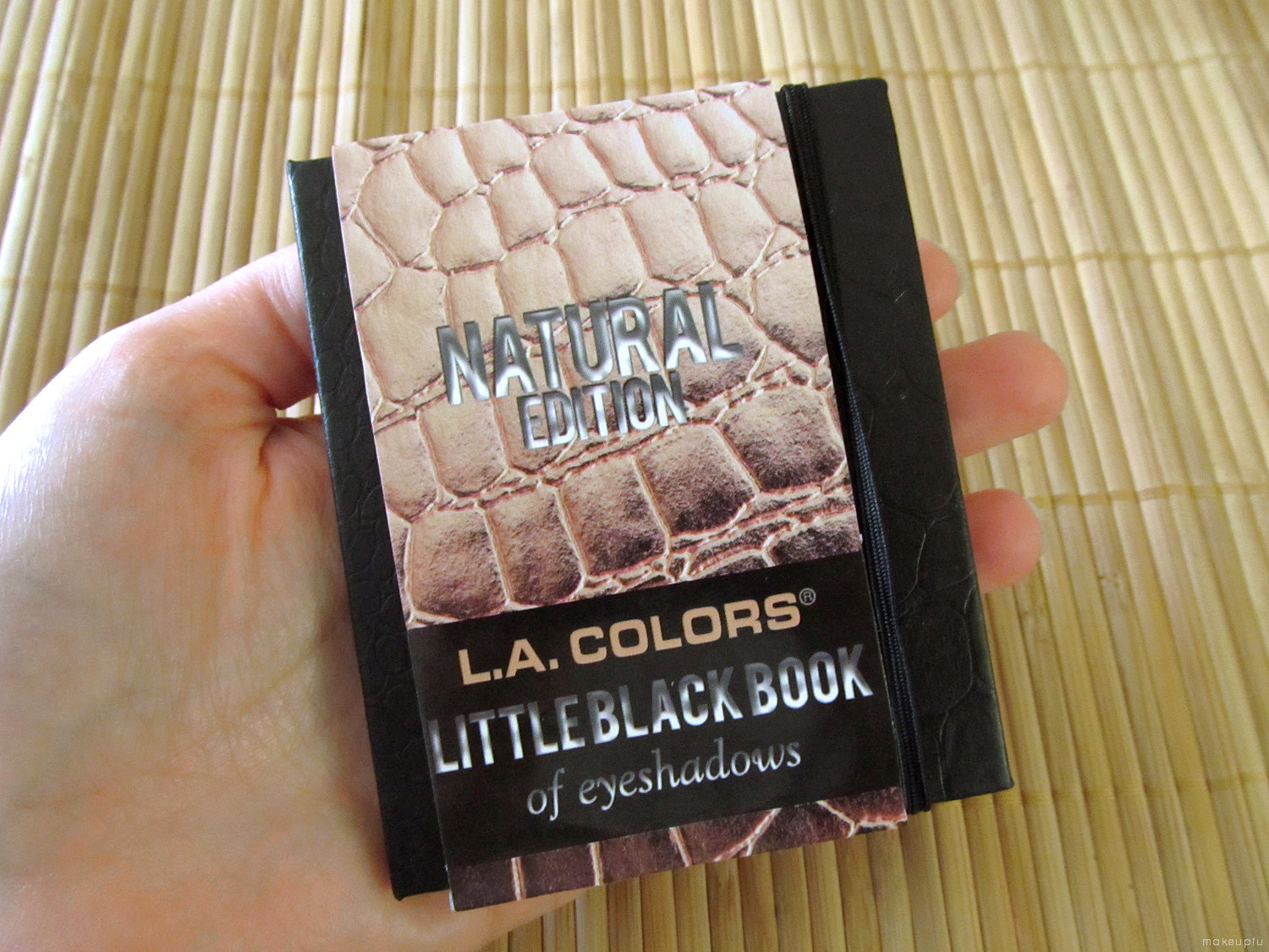 L.A. Colors Little Black Book of Eyeshadows: Natural Edition {Review ...