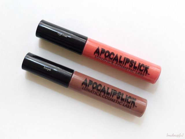 LunatiCK Cosmetic Labs Apocalipslicks in Crypt Cream and Renegade