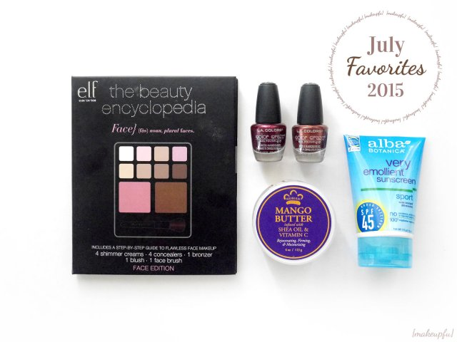 {makeupfu} Monthly Favorites: July 2015