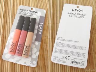 NYX mega Shine Lip Gloss Trio