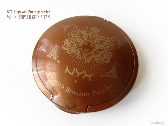NYX Tango With Bronzing Powder: When Leopard Gets a Tan