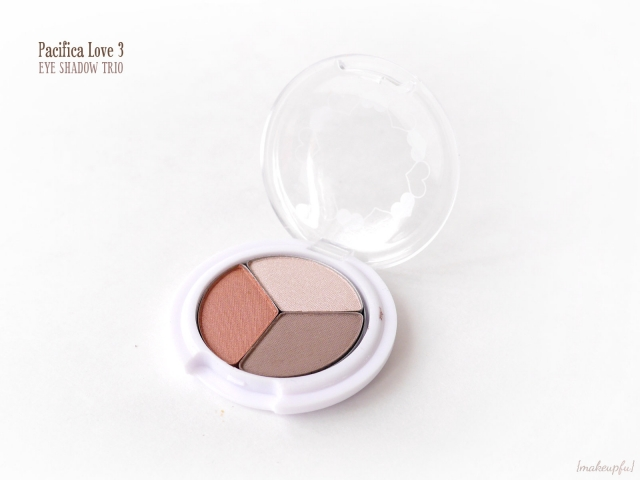 Pacifica Love 3 Eye Shadow Trio