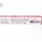 Box packaging of the Pacifica Power of Love Natural Lipstick in Nudie Red