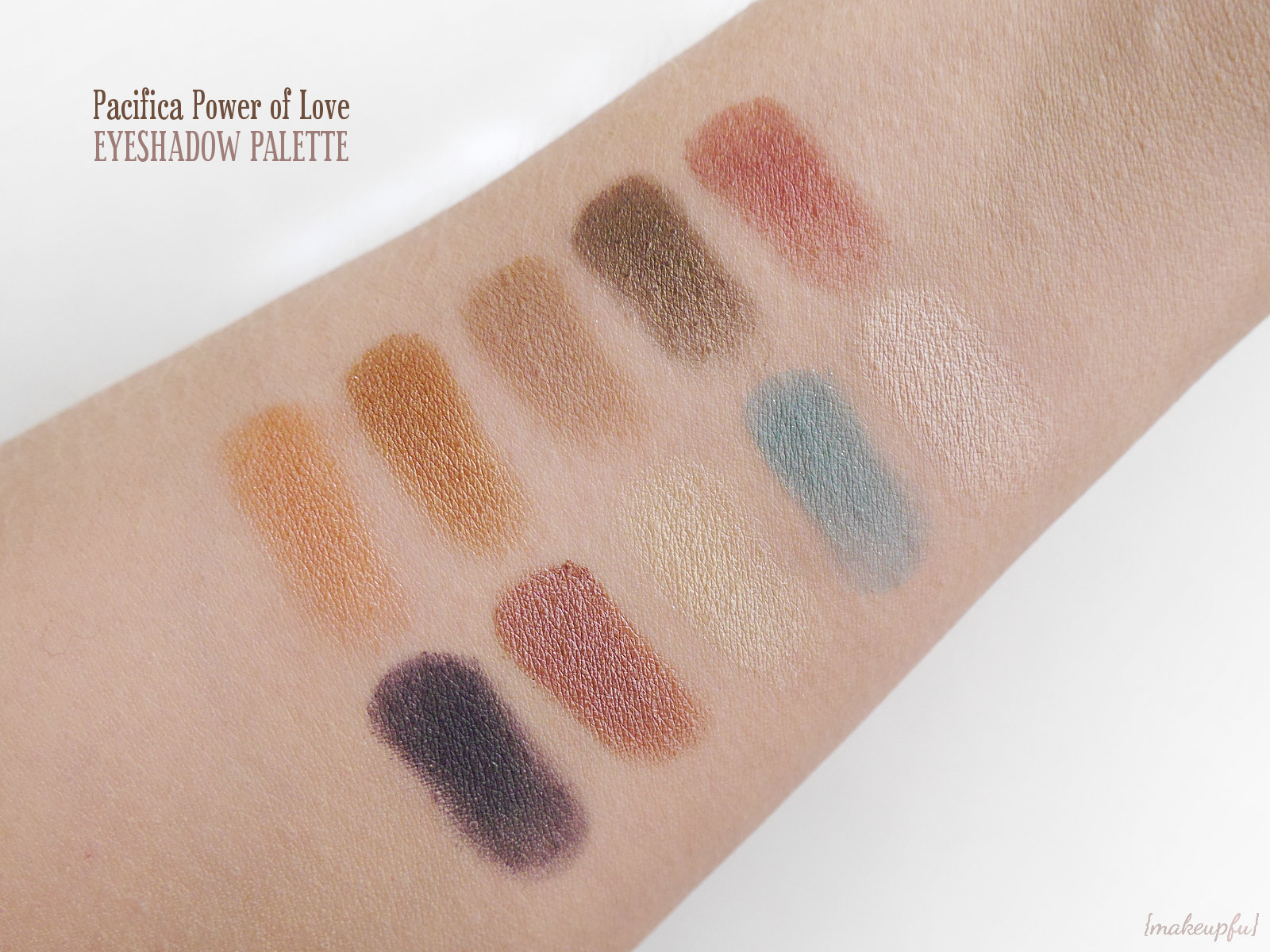 Solar Complete Color Mineral Palette by pacifica #4