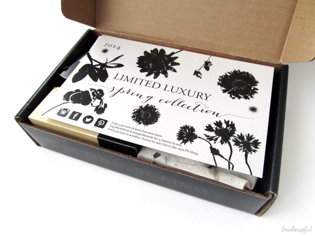 Petit Vour 2014 Limited Luxury Spring Collection Box