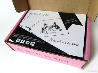 Petit Vour Box March 2014 (Unboxing)