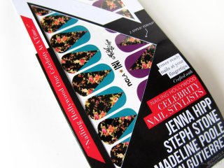 Petit Vour Box March 2014: Closeup of NCLA Nail Wraps in Aly Still En Vogue
