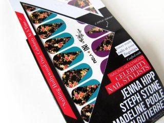 Petit Vour Box March 2014: Closeup of NCLA Nail Wraps in Aly Still En Vogue