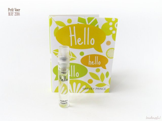 Petit Vour Box May 2014: Harvey Prince Hello Fragrance