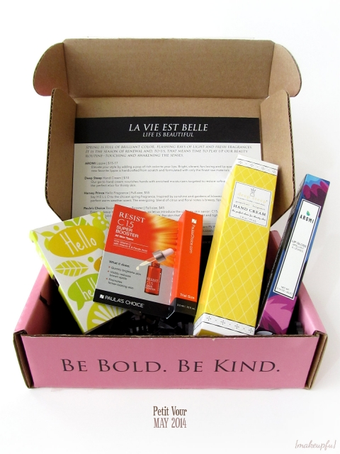 Petit Vour Box: May 2014