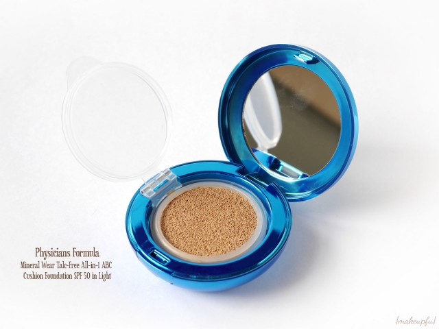 Physicians Formula Mineral Wear Talc-Free All-in-1 ABC Cushion Foundation SPF 50 in the shade Light