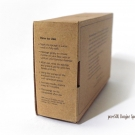 Side view of the pureSOL Konjac Sponge box packaging