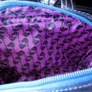Lining of the Ursula Soho Disney Villains Weekender Bag 2013