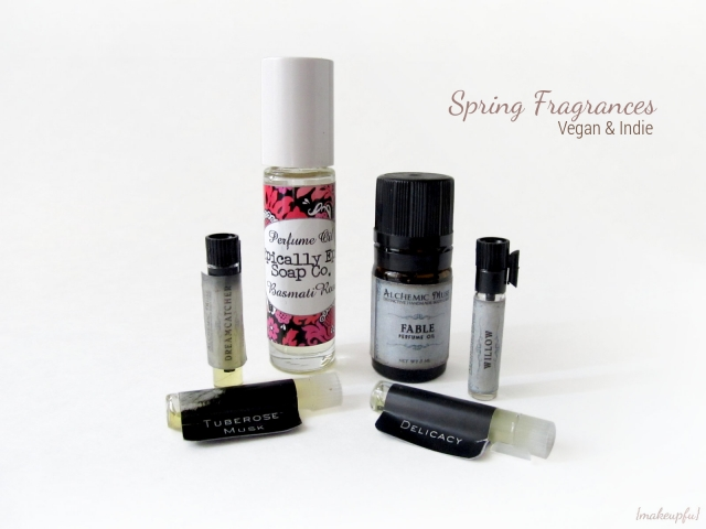 Spring Fragrances: Vegan & Indie
