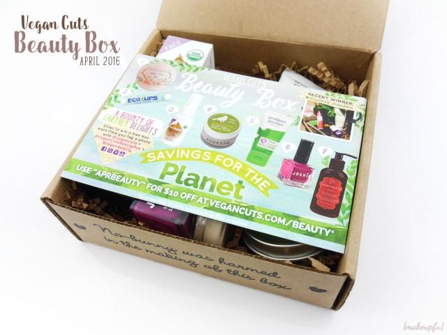 Opening the April 2016 Vegan Cuts Beauty Box