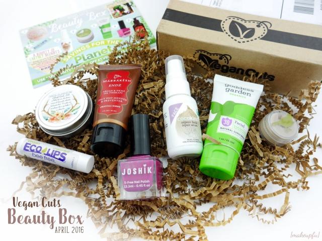 Inside the April 2016 Vegan Cuts Beauty Box