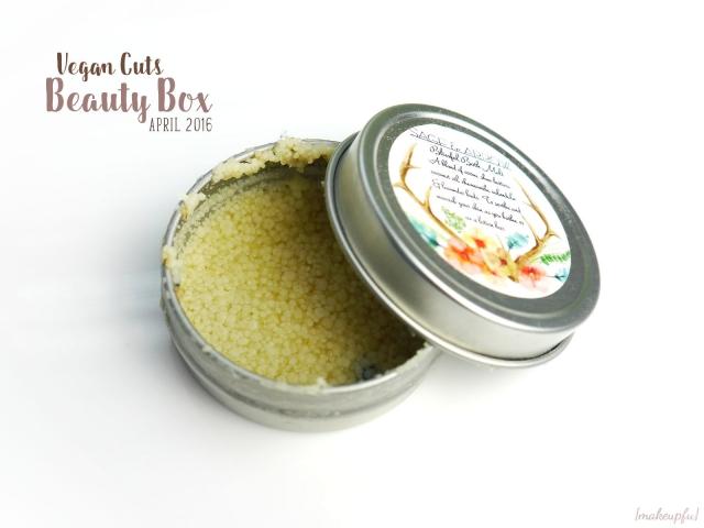 Vegan Cuts Beauty Box April 2016: Sage & Arrow Blissful Bath Melt