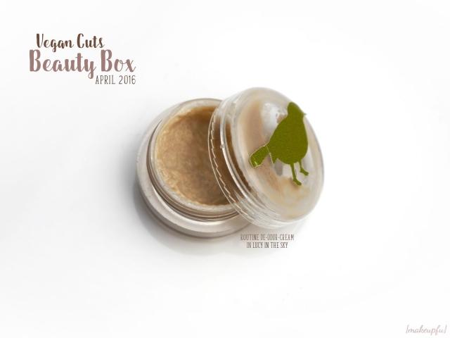 Vegan Cuts Beauty Box April 2016: Routine De-odor-cream in Lucy in the Sky