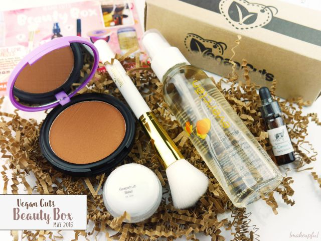 Vegan Cuts Beauty Box May 2016