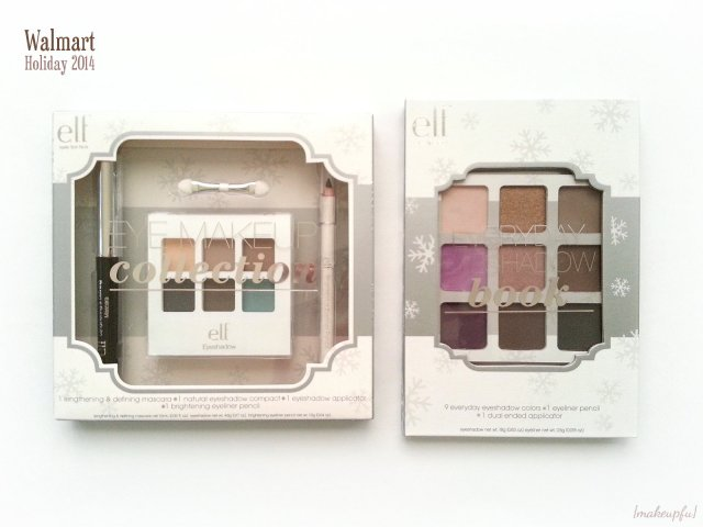e.l.f. Holiday 2014 Everyday Eyeshadow Beauty Book & Eye Makeup Collection from Walmart