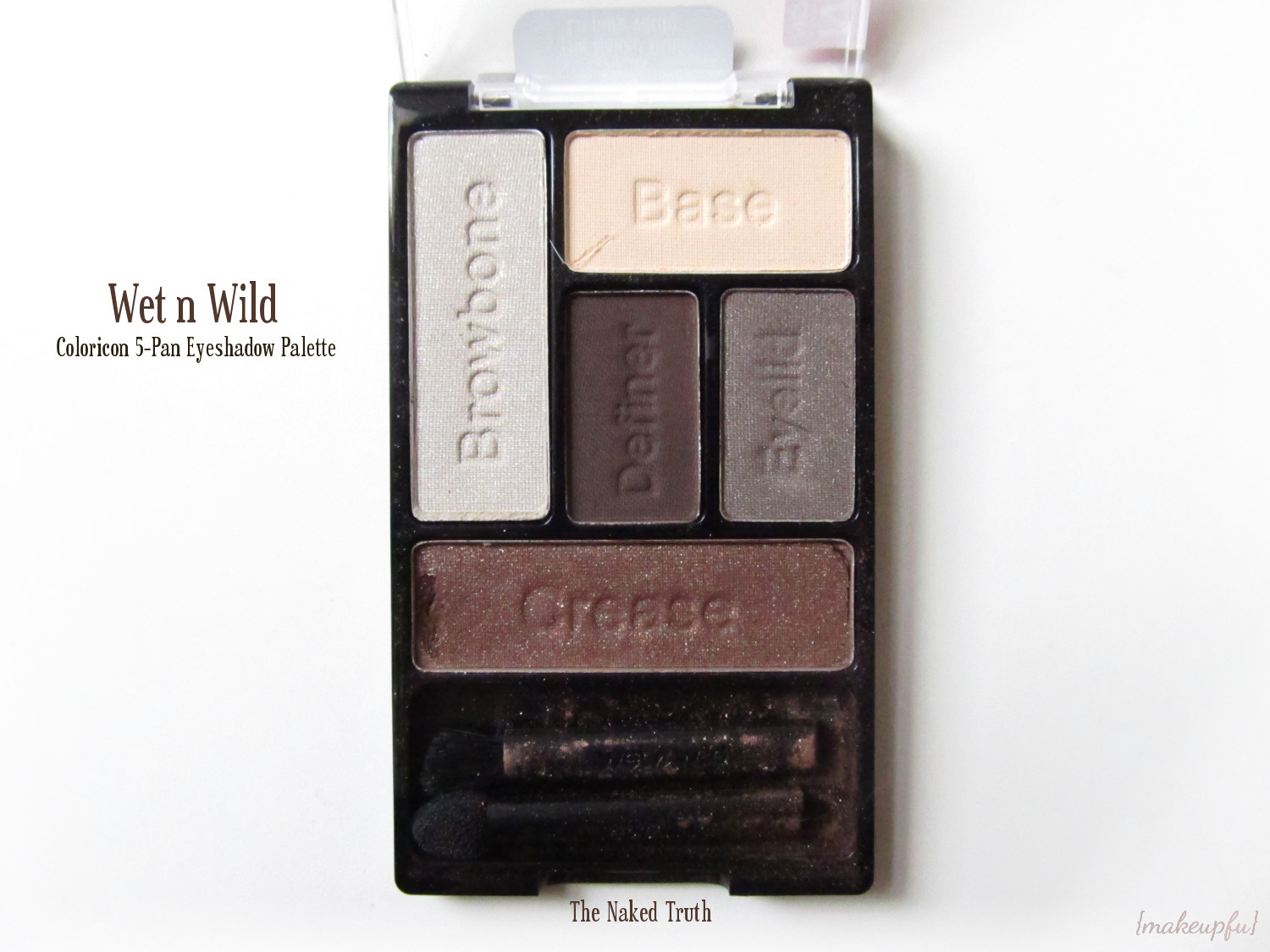 Wet N Wild Color Icon Eyeshadow Palette 5 Pan - 395A The