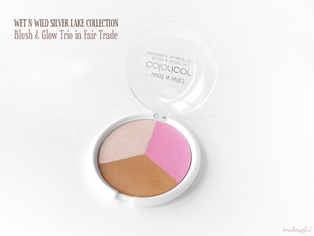 Wet n Wild Silver Lake Spring 2015 Collection ColorIcon Blush & Glow Trio in Fair Trade