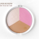 Closeup of the Wet n Wild Silver Lake Spring 2015 Collection ColorIcon Blush & Glow Trio in Fair Trade