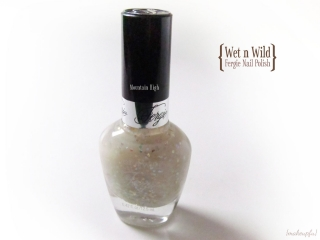 Wet n Wild Fergie Nail Color in Mountain High