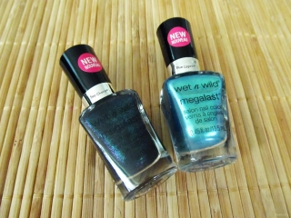 Wet n Wild Megalast Polish exclusives @ Dollar General: Sea Change and Blue Lagoon