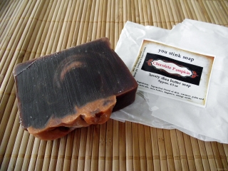 You Stink Soap Chocolate Pumpkin Soap