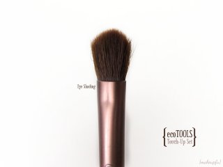 Eye Shading brush from the ecoTOOLS Four Piece Touch-Up Set