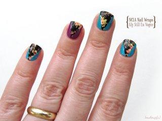 Petit Vour Box March 2014: NCLA Nail Wraps in Aly Still En Vogue