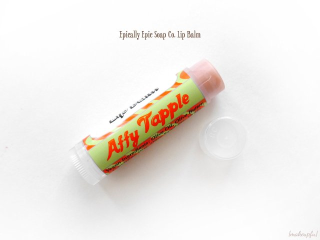 Epically Epic Limited Edition Fall 2015 GWP Lip Balm in Affy Tapple