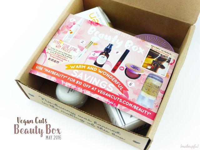 Vegan Cuts Beauty Box May 2016