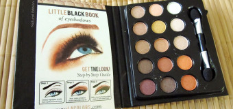 L.A. Colors Little Black Book of Eyeshadows: Natural Edition {Review}