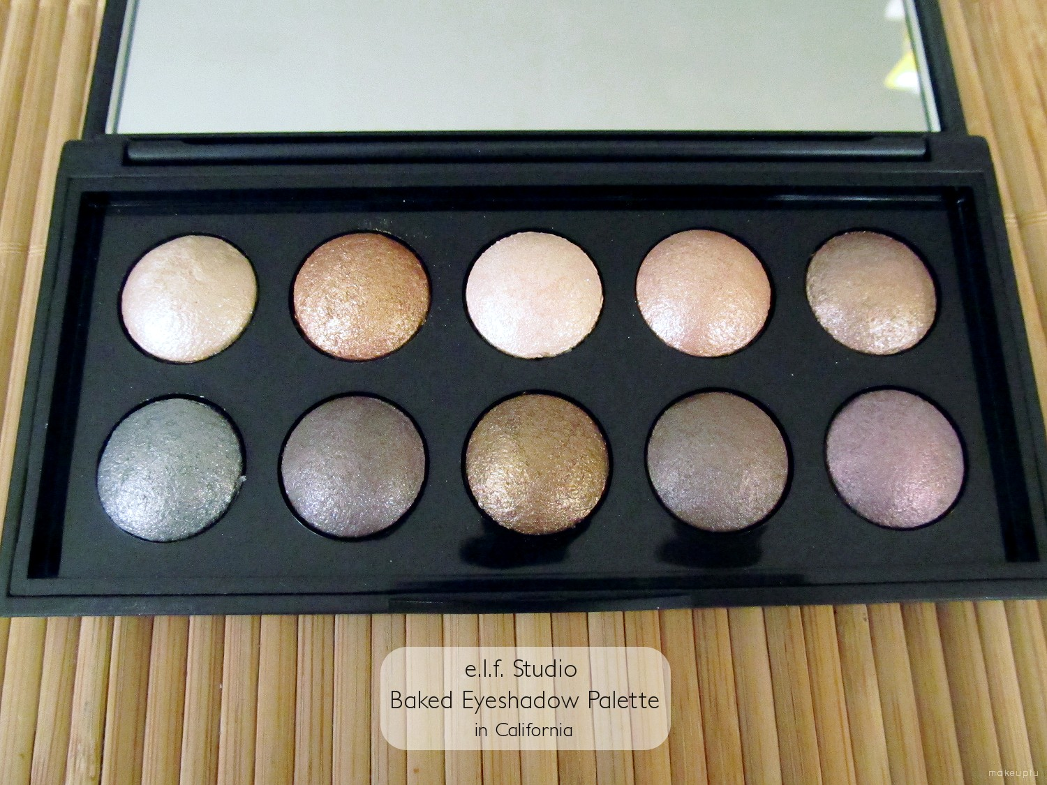 Target e.l.f. Fall 2013 Promotion: Baked Eyeshadow Palette in ...
