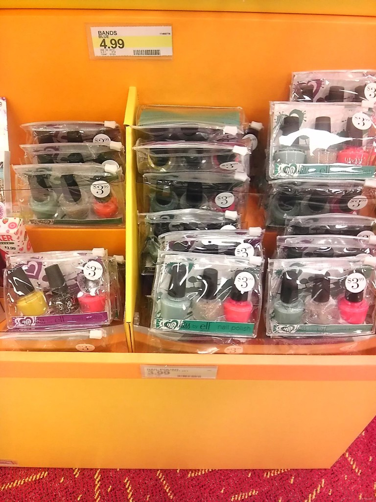 New nail polish trios at Target