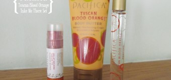 Pacifica Tuscan Blood Orange Take Me There Set {Review}