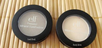 e.l.f. Mineral Pressed Mineral Eyeshadow {Review}