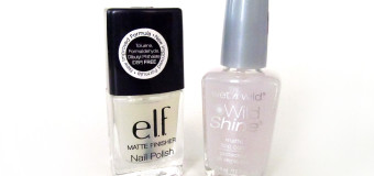 e.l.f. vs. Wet n Wild: Matte Polish Comparison {Review}