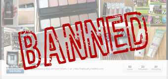 New Instagram Account (Or how my makeup addiction got me banned from Instagram)