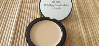 e.l.f. Studio HD Mattifying Cream Foundation {Review}