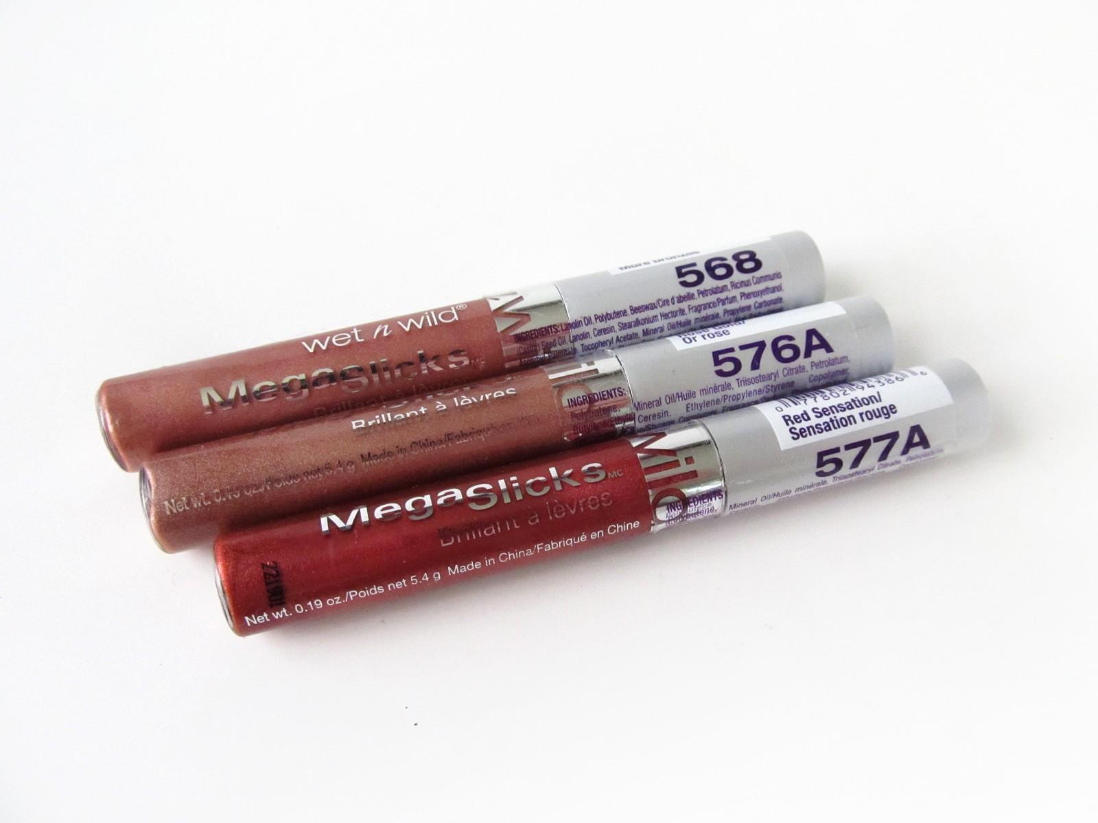 Wet N Wild Megaslicks Lip Gloss Review Makeupfu