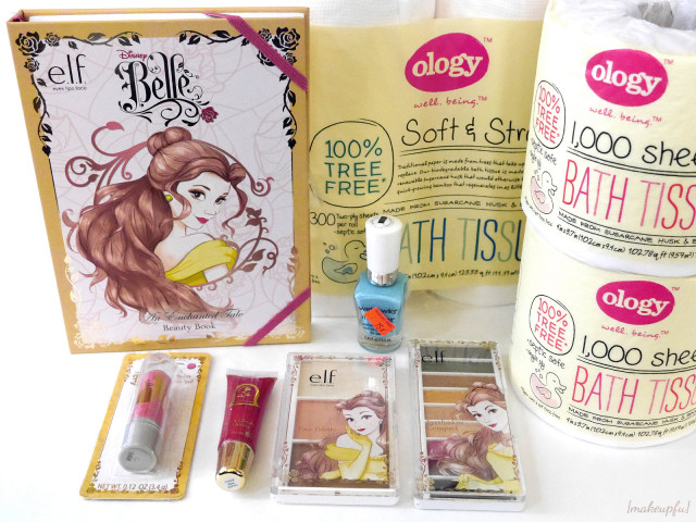 Walgreens e.l.f. Disney Princess Belle Collection {Haul}