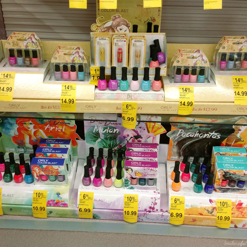 New Mulan, Pocahontas, & Ariel Dare to Dream Collection at Walgreens {Spotted}